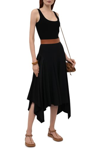 Женские кожаные сандалии GIA COUTURE коричневого цвета, арт. R0SIE-3 A 103 | Фото 1