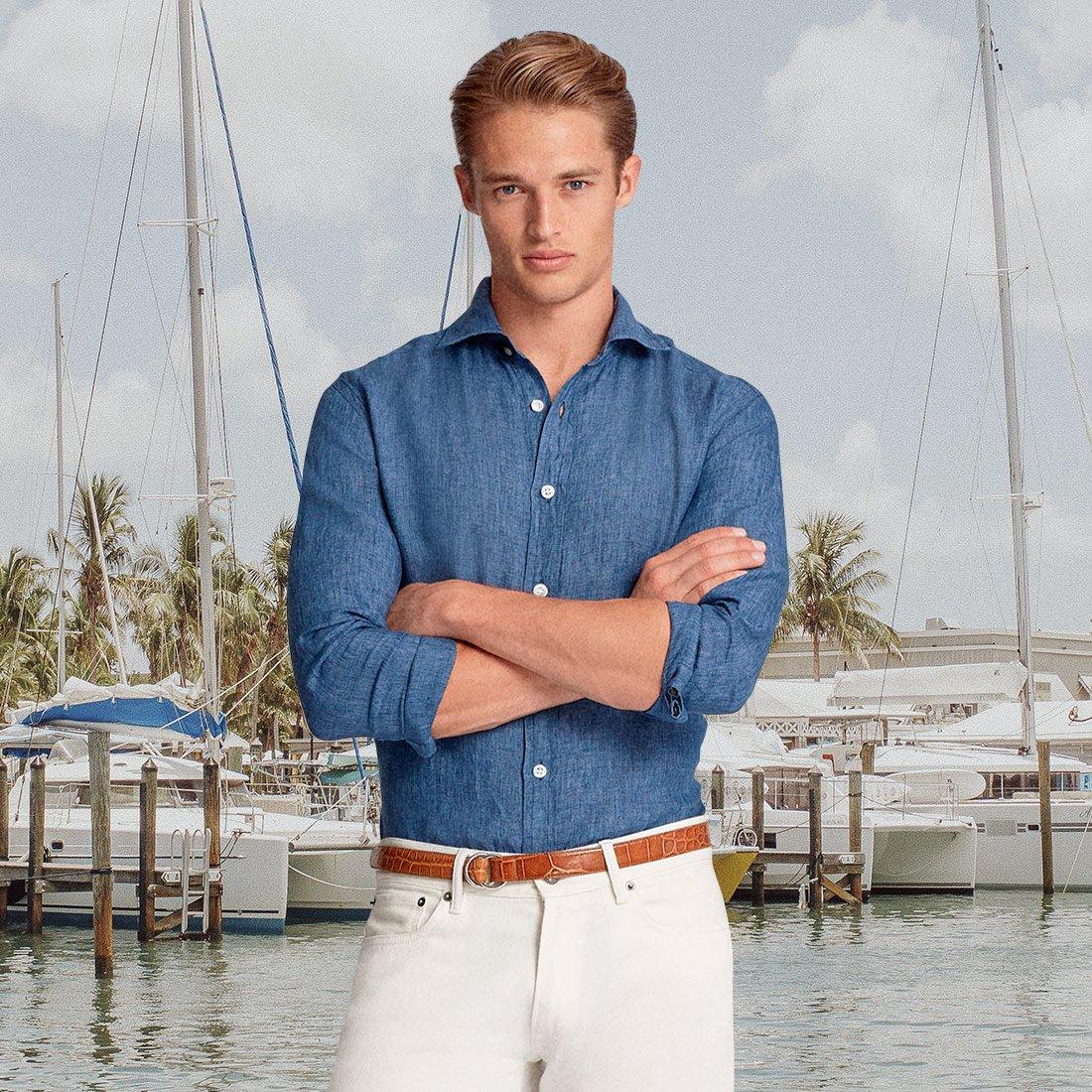 Тренд: морской стиль в одежде