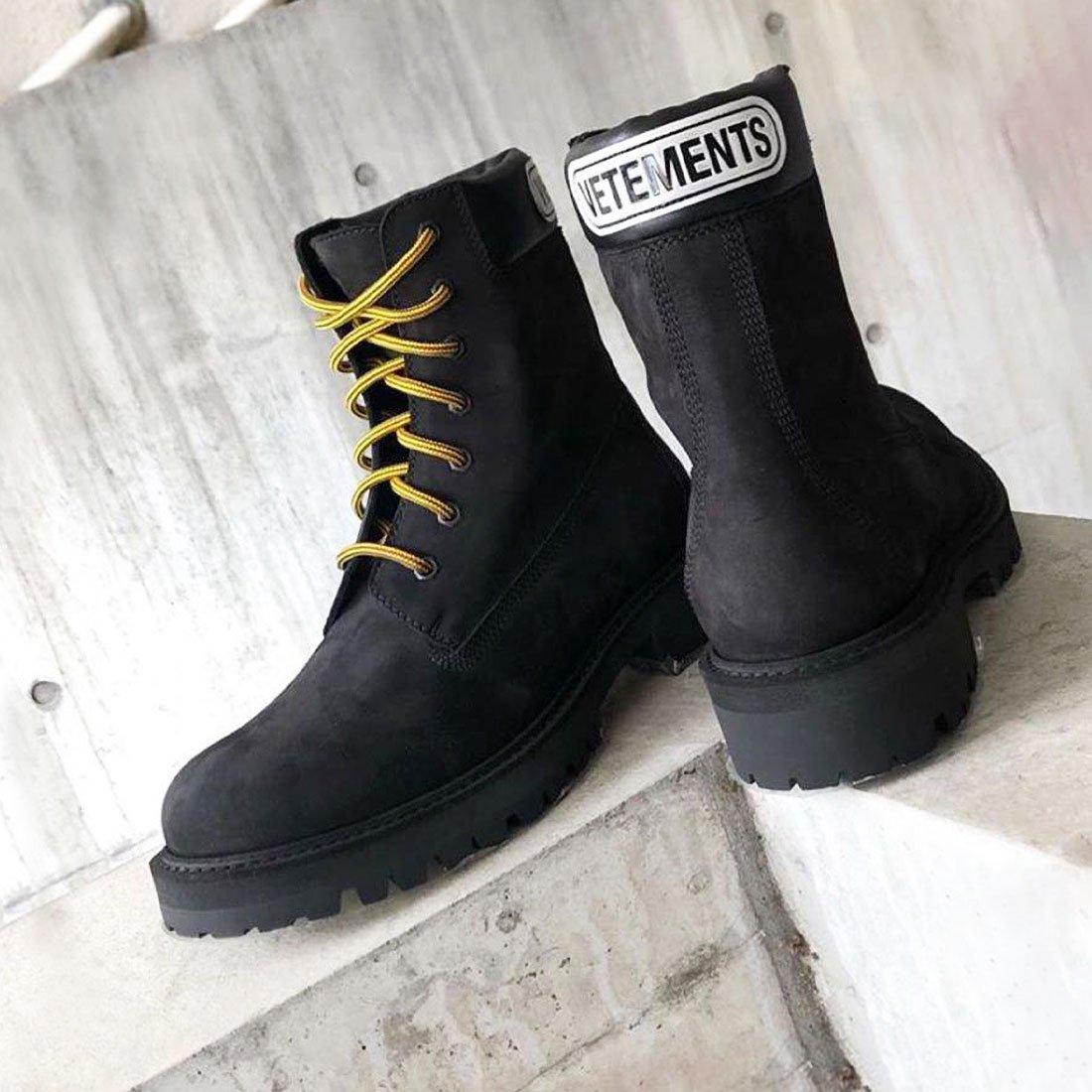 Тренд: брутальные ботинки