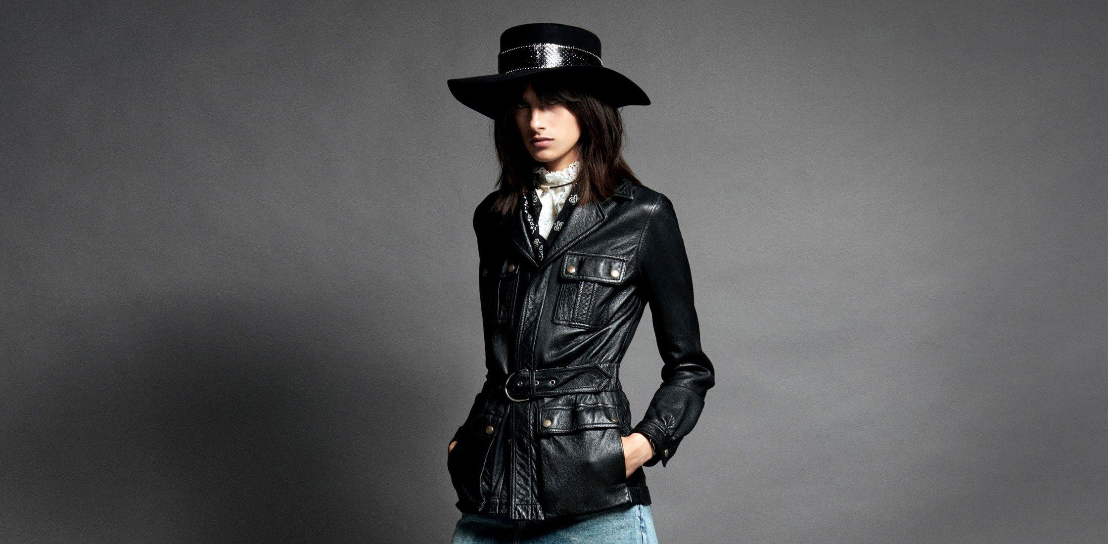 Must-have: кожаная куртка