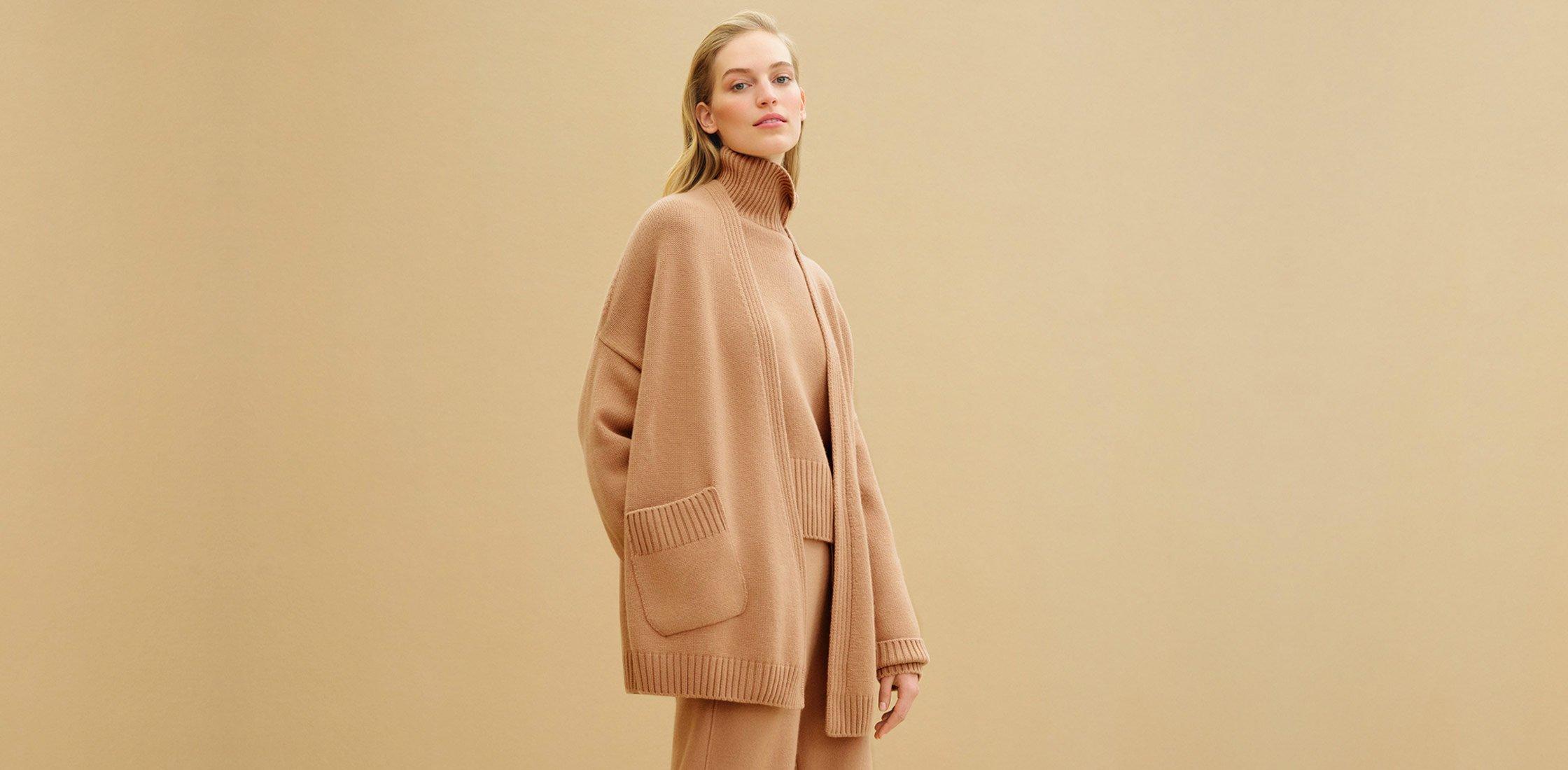 Осенний гардероб: кардиганы и свитеры