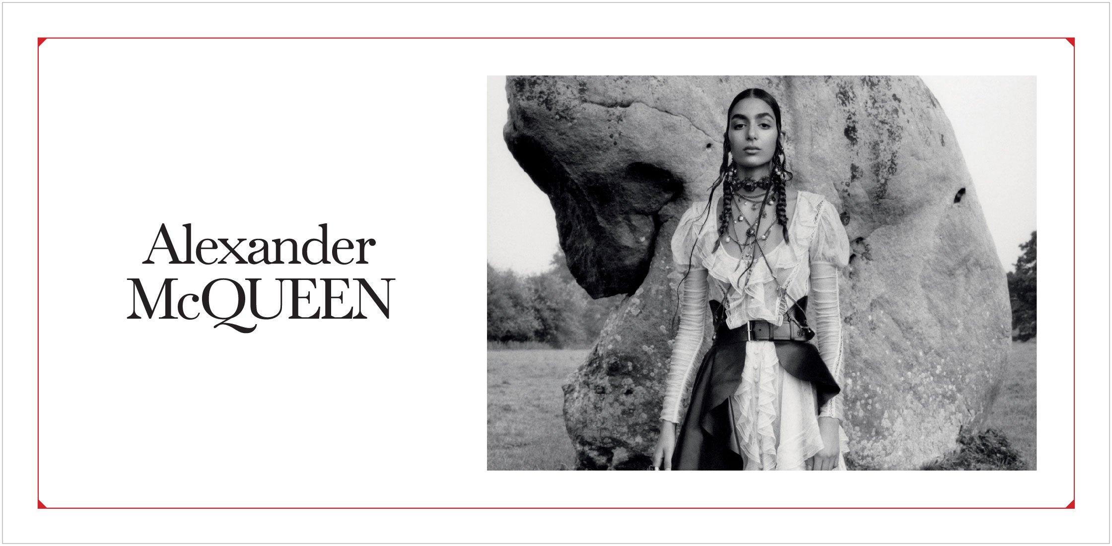 Alexander McQueen весна – лето 2019